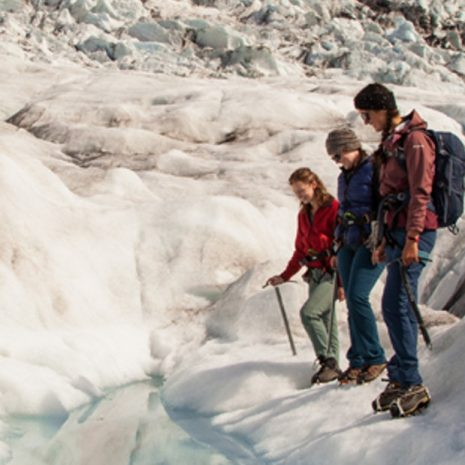 Family friendly glacier hike