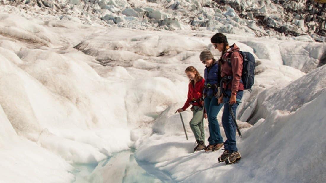 Family friendly glacier hike