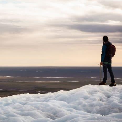 Randonnée glaciaire familiale dans la réserve naturelle de Skaftafell