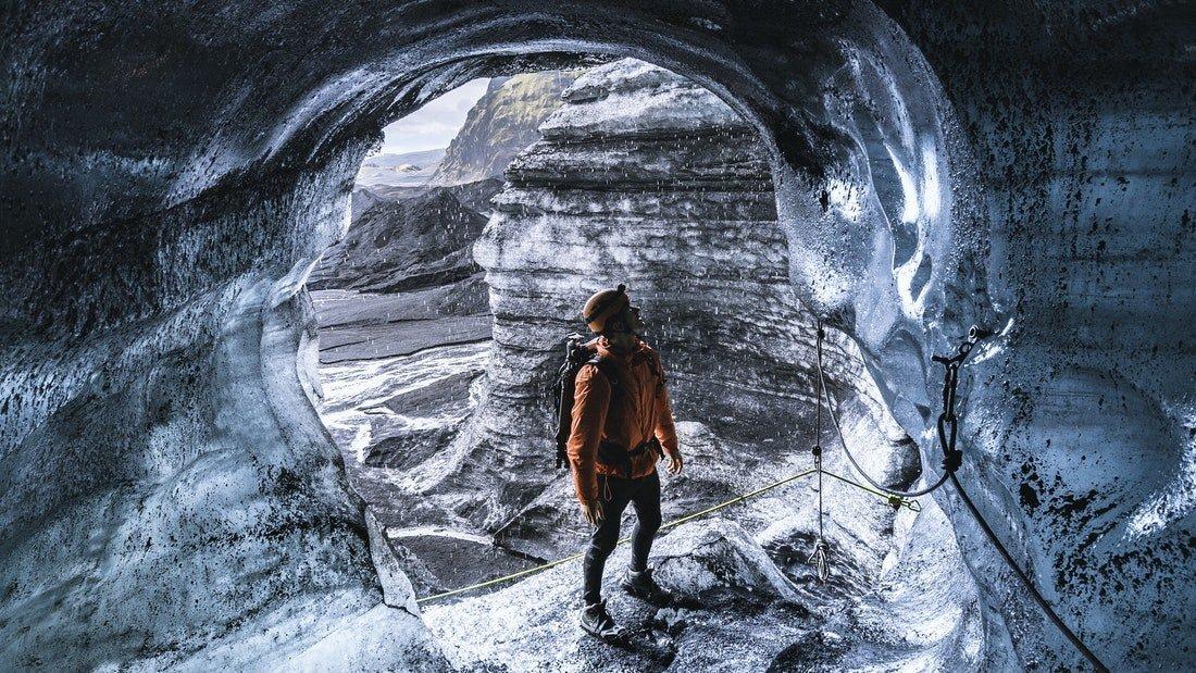 Grotte de glace naturelle