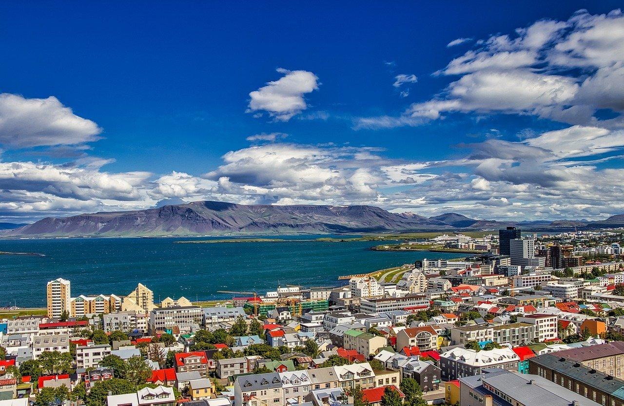 Reykjavik during the summer.