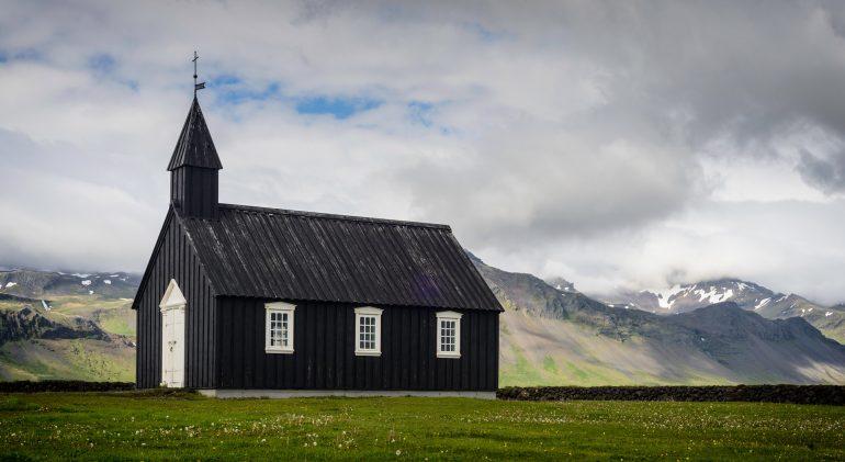 Búðakirkja church in Iceland