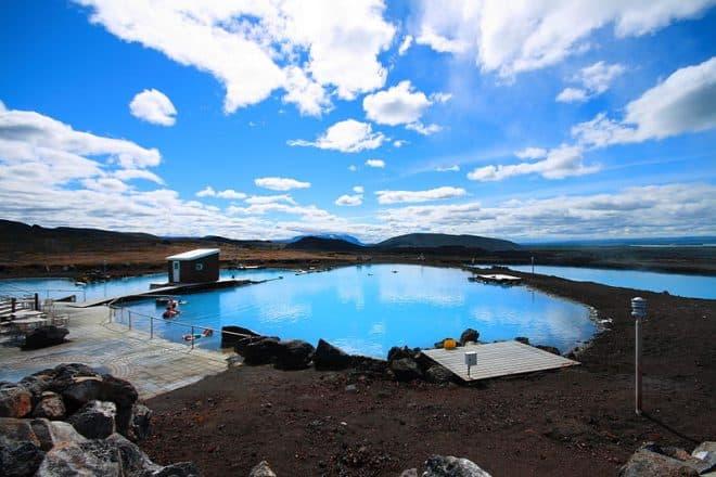 A photograph of Mývatn Nature Baths