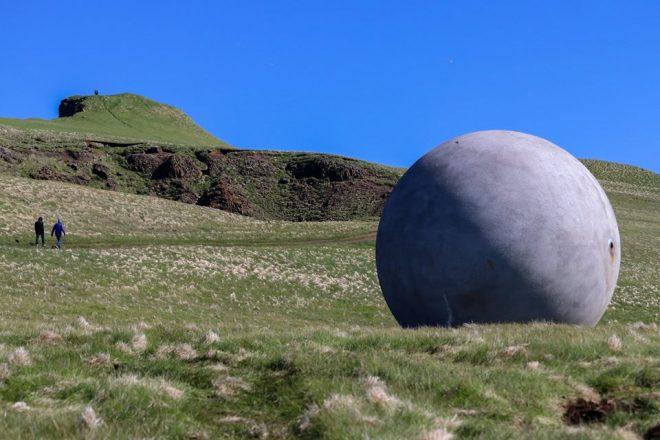 Orbis et Globus on Grimsey Island