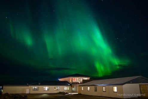 Aurora Borealis over Skaftafell national park