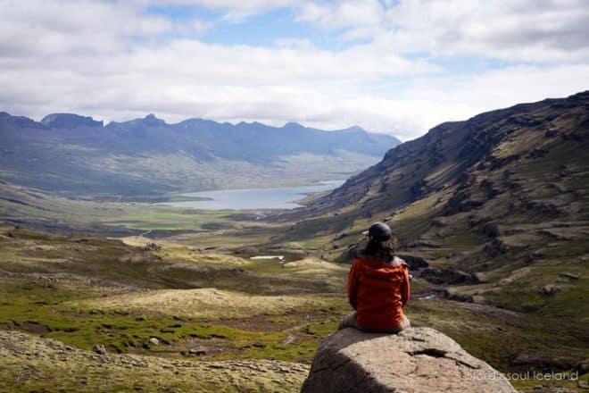 Berufjörður fjord in the east of Iceland offers breathtaking views