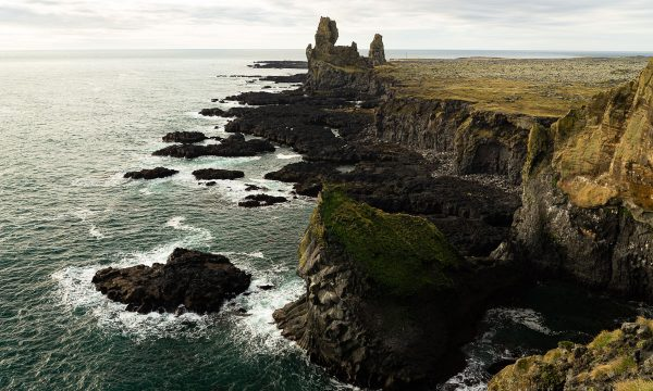 Cliffs, Lóndrangar, Snæfellsnes-Iceland