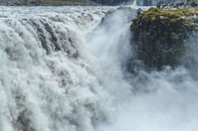 La cascade de Dettifoss est la deuxième cascade la plus puissante d'Europe