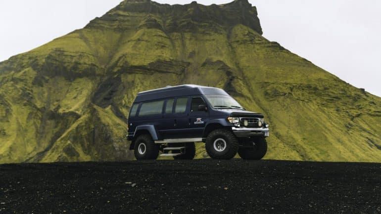 A Katla Ice Cave tour Iceland