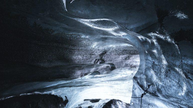 Visite de la grotte de glace de Katla en Islande