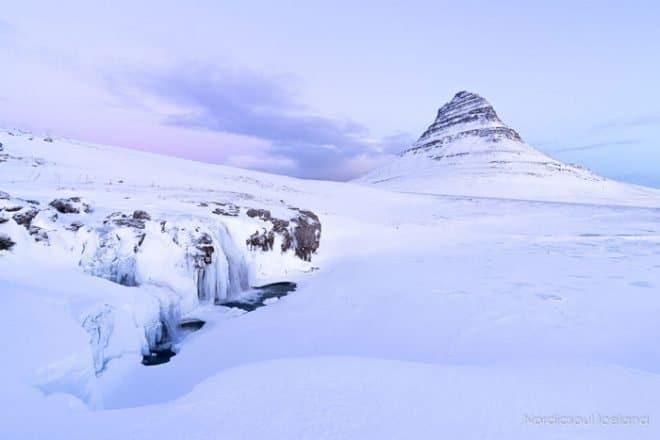 Kirkjufell-under-the-snow-on-Sneafellsnes-itinerary