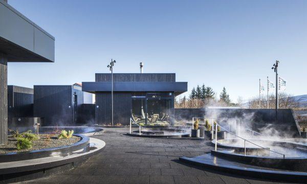 Krauma Geothermal baths in the west of Iceland