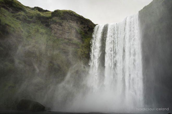 Cascade de Skogafoss Islande