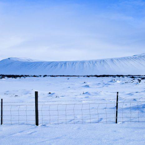 Volcan nord de l'Islande