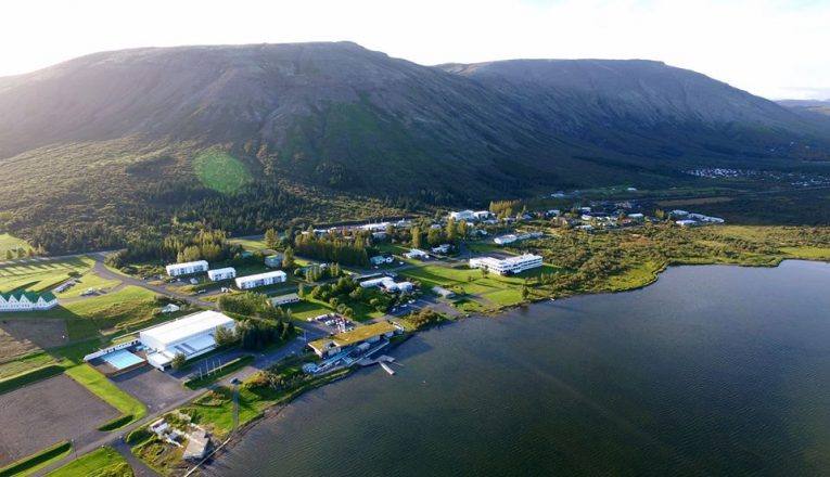 An overview of Laugarvatn town