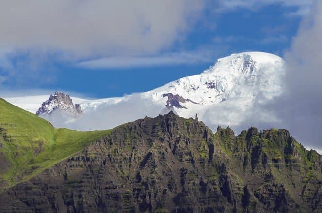 The dramatic Öræfajökull glacier