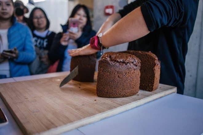 Rye bread is cooked using geothermal energy