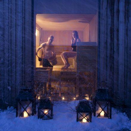 A finnish sauna in Iceland