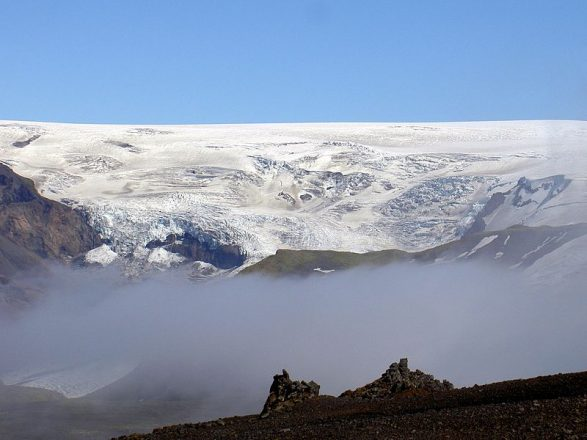 The mighty Katla in South Iceland