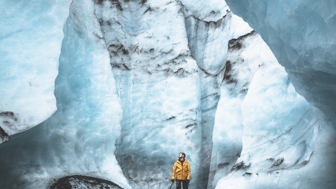 Iceland's South Coast with Glacier Hike & Lava Exhibition