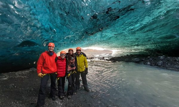 Small-Group Ice Cave Tour in a Super Jeep   Departure from Jökulsárlón Glacier Lagoon