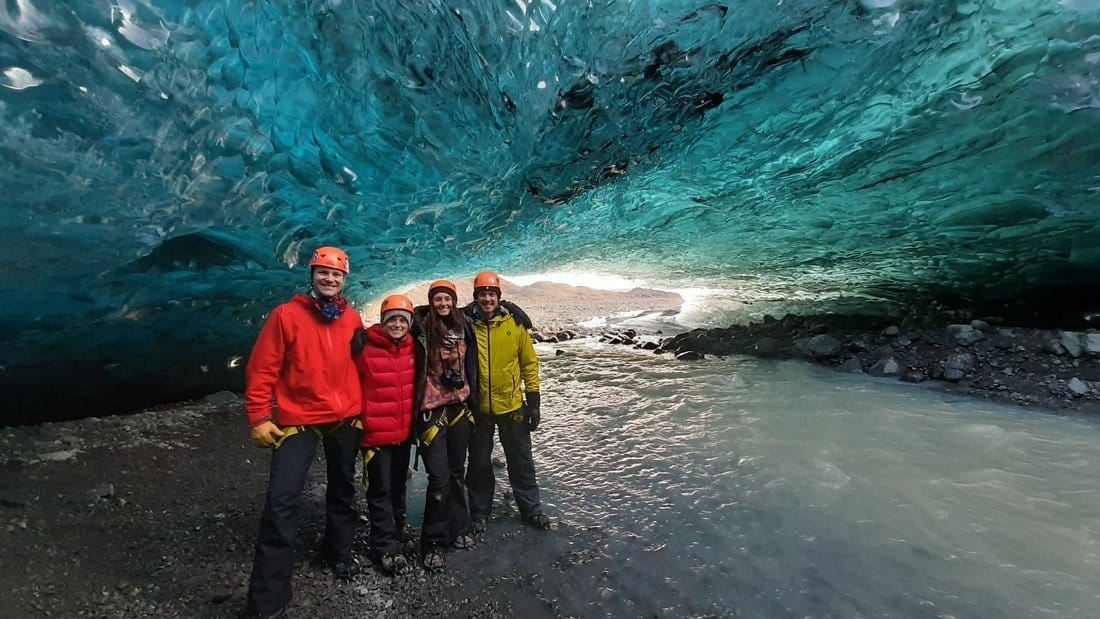 Small-Group Ice Cave Tour in a Super Jeep | Departure from Jökulsárlón Glacier Lagoon