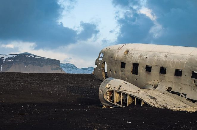 L'épave de DC Plane était autrefois utilisée comme espace de stockage par un agriculteur local
