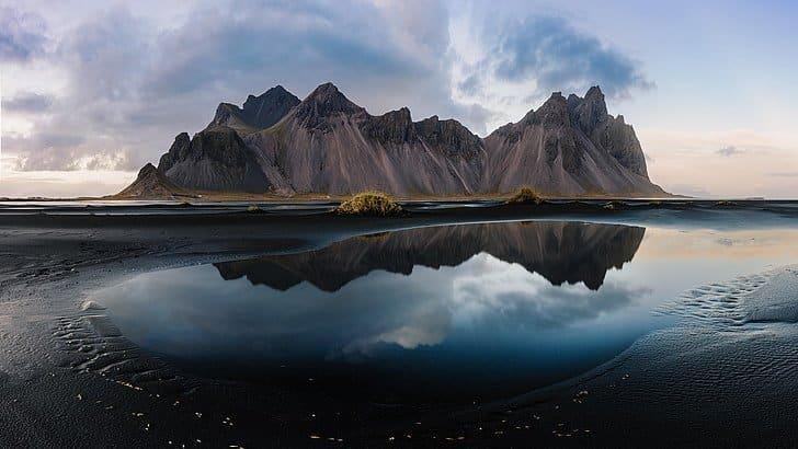 The stunning Vestrahorn mountain on Stokksnes