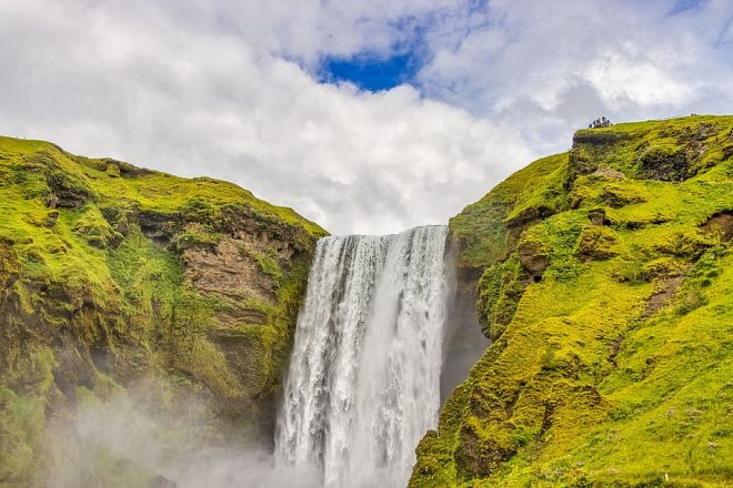 South Iceland is filled with watefalls