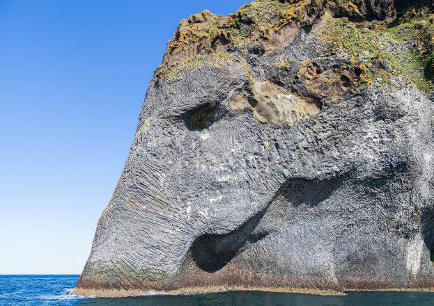 Elephant Rock on the Westman Islands.