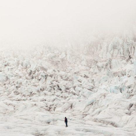 Randonnée glaciaire de 4,5 heures dans la réserve naturelle de Skaftafell dans le sud de l'Islande