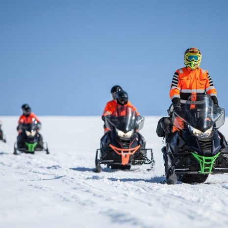 Snowmobiling Tour on Myrdalsjokull Glacier in South Iceland