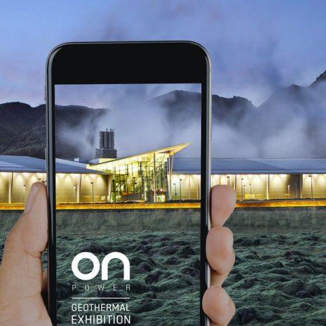 Visitez l'exposition géothermique ON à la centrale électrique Hellisheidi dans le sud de l'Islande