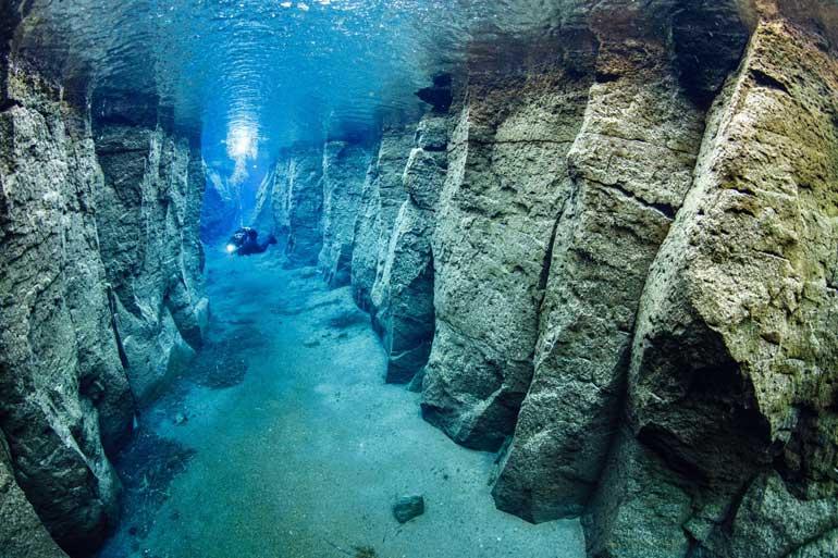Diver at Nesgjá