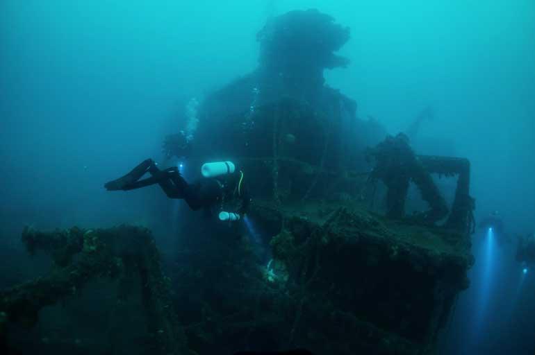 el grillo shipwreck