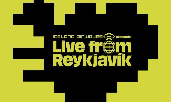 Iceland Airwaves' 'Live from Reykjavik' logo.