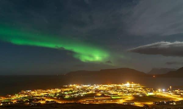 Aurora Borealis over Grundarfjördur