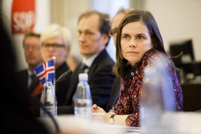 Katrín Jakobsdóttir is Iceland's current Prime Minister