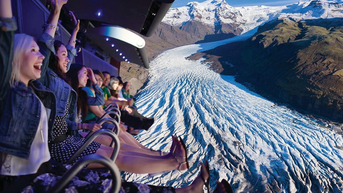 Entrée à FlyOver Iceland - Vol virtuel à Reykjavik