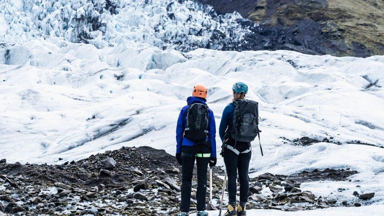 Short Glacier Hike in Vatnajokull National Park