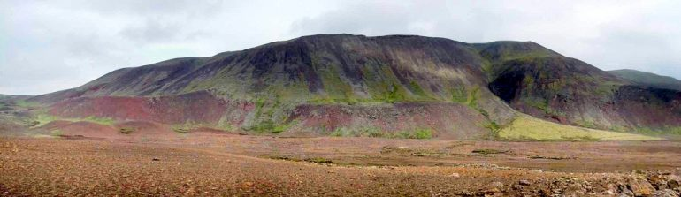 Volcan Fagradalsfjall en Islande