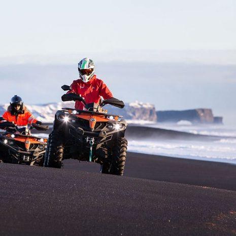 Quad Bike Tour to South Iceland's Black Sand Beaches & DC3 Plane Wreck