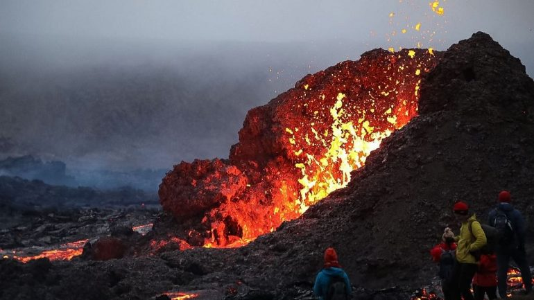 Hike to Geldingadalur Active Volcano | Small Group Tour