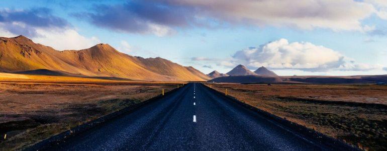 Une route en Islande